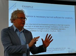 Jan Dul speaking at the annual conference of the European Academy of Management (EURAM) in Glasgow, Scotland